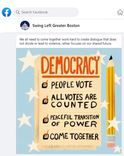 Democracy will prevail