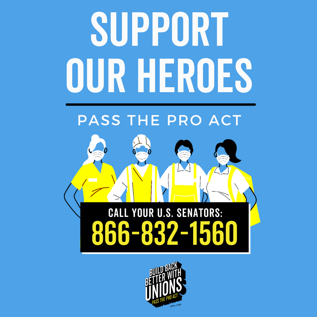 Take Action! Pass the PRO Act!