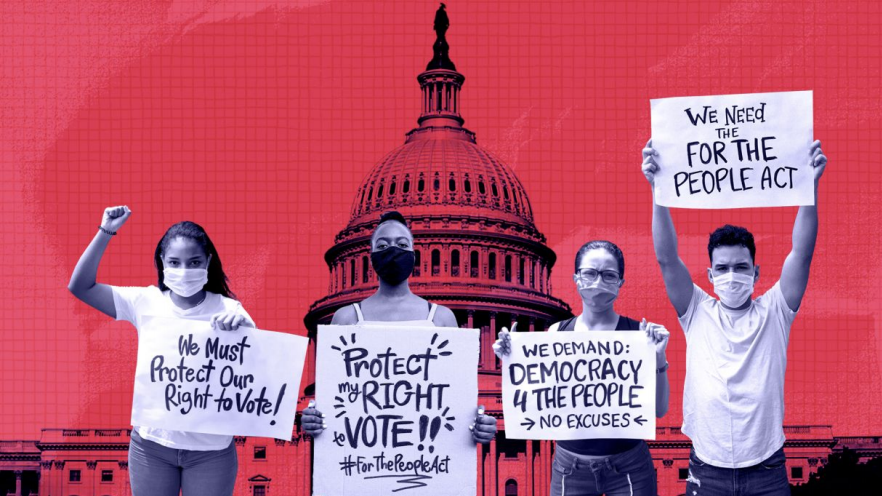 Join the Freedom to Vote Rally