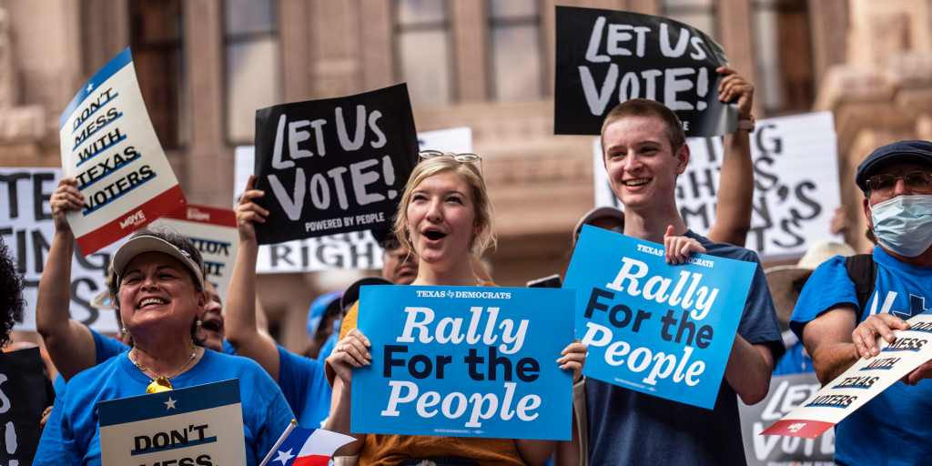 Rally for Freedom to Vote
