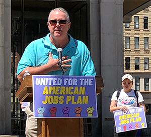 Jim Gardler Jobs Plan Rally