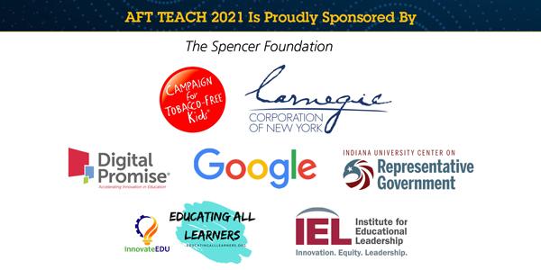 AFT TEACH 2021 Sponsors