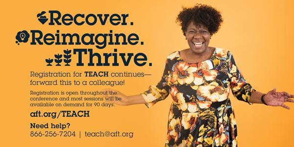 Register for TEACH 2021