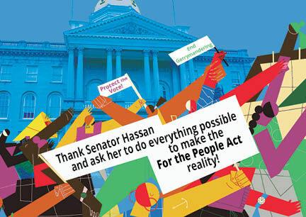 Senator Hassan S. 1 postcard