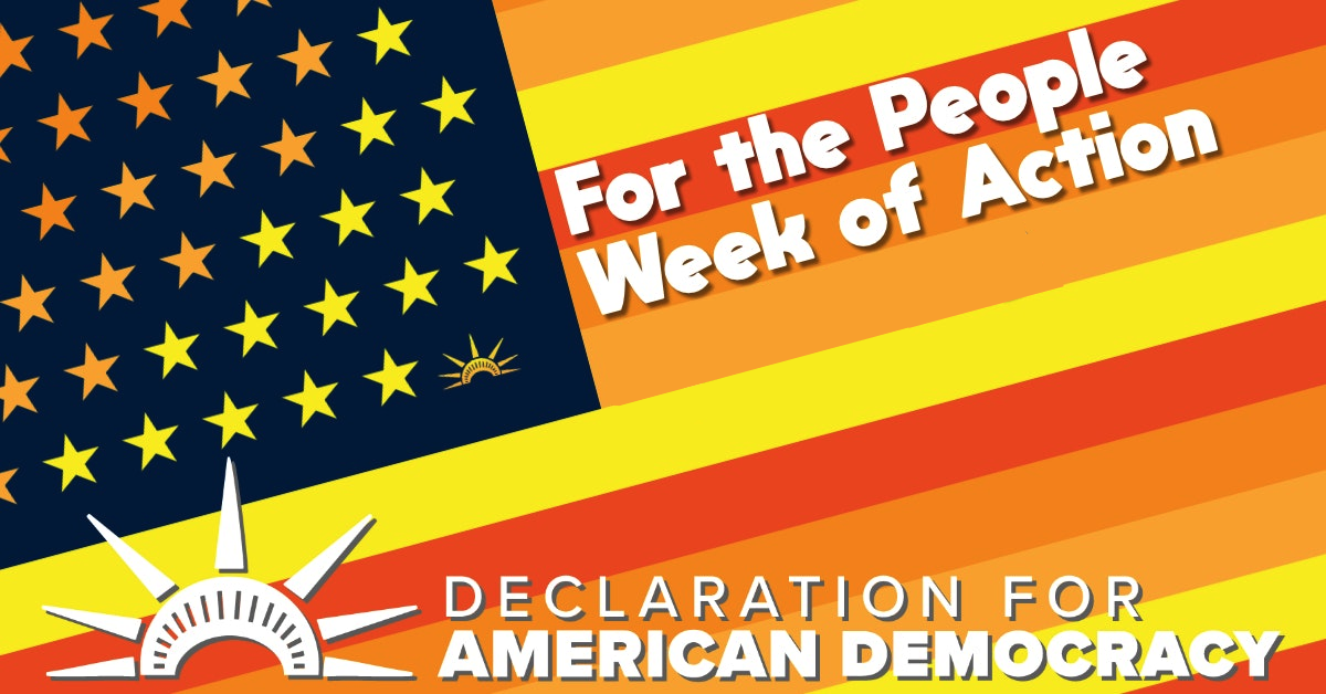 For the People Week of Action