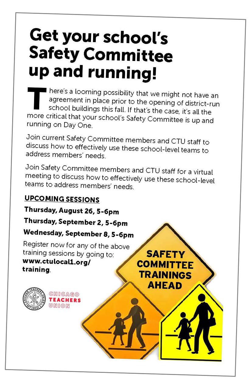 Get your school's Safety Committee up and running!