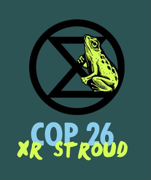 COP26 XR Stroud logo