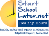 Start School Later -- Ridgefield