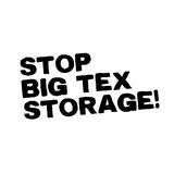 Stop Bigtexstorage